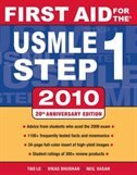 Book First Aid for the USMLE Step 1, 2010 by Tao Le