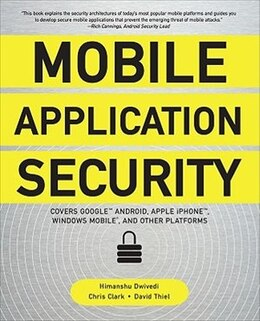 Book Mobile Application Security by Himanshu Dwivedi