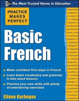 Book Practice Makes Perfect Basic French by Eliane Kurbegov