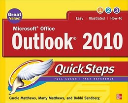 Book Microsoft Office Outlook 2010 QuickSteps by Carole Matthews