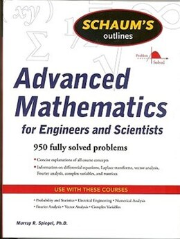 Book Schaum's Outline of Advanced Mathematics for Engineers and Scientists by Murray Spiegel