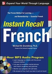 Book Instant Recall French, 6-Hour MP3 Audio Program by Michael Gruneberg