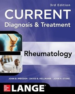 Book Current Diagnosis & Treatment in Rheumatology, Third Edition by John Imboden