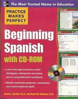 Book Practice Makes Perfect Beginning Spanish with CD-ROM by Ronni Gordon