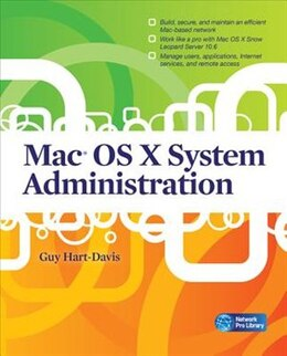 Book Mac OS X System Administration by Guy Hart-Davis