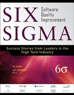 Book Six Sigma Software Quality Improvement by Vic Nanda