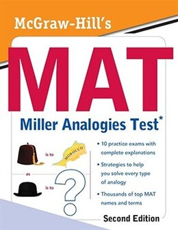 Book McGraw-Hill's MAT Miller Analogies Test, Second Edition by Kathy A. Zahler