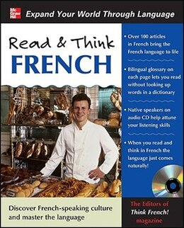 Book Read & Think French with Audio CD by The Editors of Think French! magazine