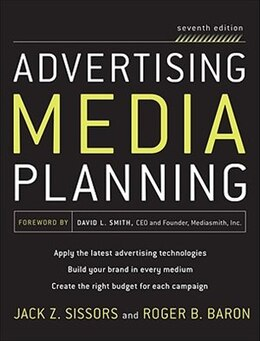 Book Advertising Media Planning, Seventh Edition by Roger Baron