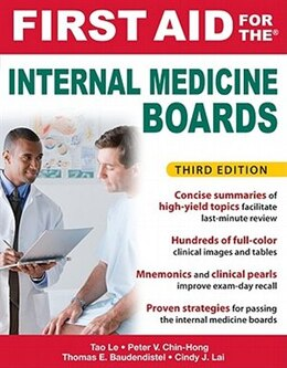Book First Aid for the Internal Medicine Boards, 3rd Edition by Tao Le