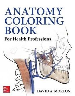 Book Anatomy Coloring Book for Health Professions by David Morton