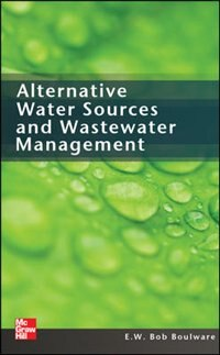 Book Alternative Water Sources and Wastewater Management by E.W. Bob Boulware