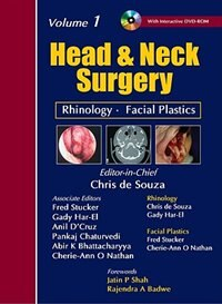Book Head & Neck Surgery by Chris de Souza