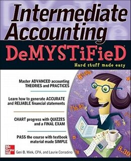 Book Intermediate Accounting DeMYSTiFieD by Geri B. Wink