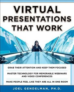 Book Virtual Presentations That Work by Joel Gendelman