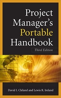 Book Project Managers Portable Handbook, Third Edition by David Cleland