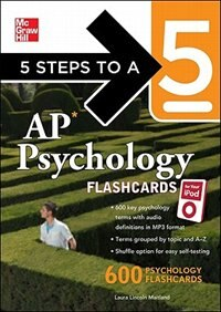 Book 5 Steps to a 5 AP Psychology for your iPod with MP3 Disk by Laura Lincoln Maitland