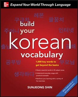 Book Build Your Korean Vocabulary with Audio CD by Sunjeong Shin
