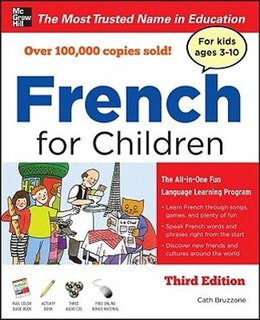 Book French for Children with Three Audio CDs, Third Edition by Catherine Bruzzone