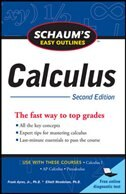 Book Schaum's Easy Outline of Calculus, Second Edition by Elliott Mendelson