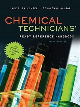 Book Chemical Technicians' Ready Reference Handbook, 5th Edition by Jack Ballinger