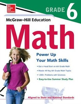 Book McGraw-Hill Education Math Grade 6 by McGraw-Hill Education