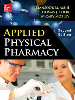 Book Applied Physical Pharmacy 2/E by Mansoor Amiji