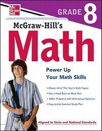 McGraw-Hill's Math Grade 8