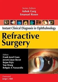 Book Refractive Surgery by Frank Goes