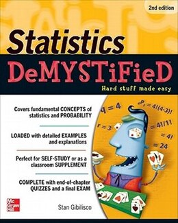 Book Statistics DeMYSTiFieD, 2nd Edition by Stan Gibilisco