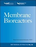 Book Membrane BioReactors WEF Manual of Practice No. 36 by Water Environment Federation