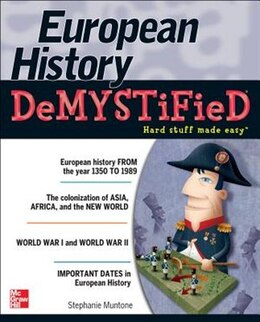 Book European History DeMYSTiFieD by Stephanie Muntone