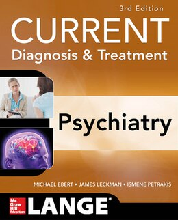 Book CURRENT Diagnosis & Treatment Psychiatry, Third Edition by Michael Ebert
