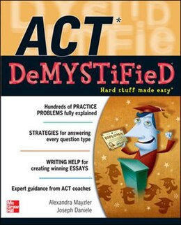 Book ACT DeMystified by Alexandra Mayzler