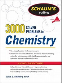 Book 3,000 Solved Problems In Chemistry by David Goldberg