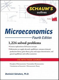 Book Schaum's Outline of Microeconomics, Fourth Edition by Dominick Salvatore
