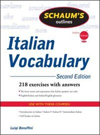 Book Schaum's Outline of Italian Vocabulary, Second Edition by Luigi Bonaffini