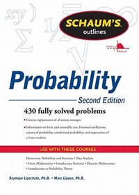 Book Schaum's Outline of Probability, Second Edition by Seymour Lipschutz