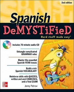 Book Spanish DeMYSTiFieD, Second Edition by Jenny Petrow