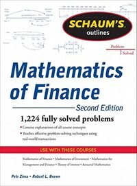 Book Schaum's Outline of  Mathematics of Finance, Second Edition by Robert Brown