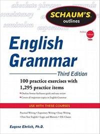 Book Schaum's Outline of English Grammar, Third Edition by Eugene Ehrlich