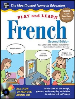 Book Play and Learn French with Audio CD, 2nd Edition by Ana Lomba