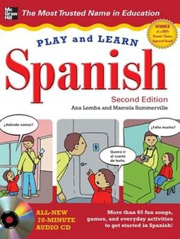 Book Play and Learn Spanish with Audio CD, 2nd Edition by Ana Lomba
