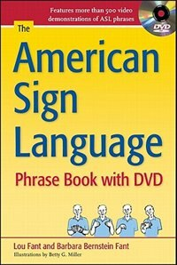 Book The American Sign Language Phrase Book with DVD by Barbara Bernstein Fant