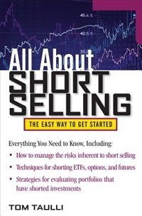 Book All About Short Selling by Tom Taulli