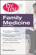 Book Family Medicine PreTest Self-Assessment And Review, Third Edition by Doug Knutson