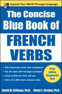Book The Concise Blue Book of French Verbs by David Stillman