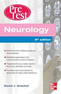 Book Neurology PreTest Self-Assessment And Review, Eighth Edition by David Anschel