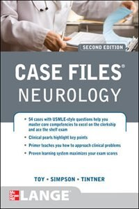 Book Case Files Neurology, Second Edition by Eugene Toy