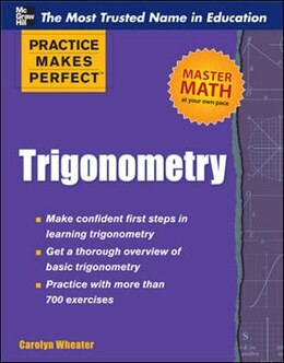Book Practice Makes Perfect Trigonometry by Carolyn Wheater